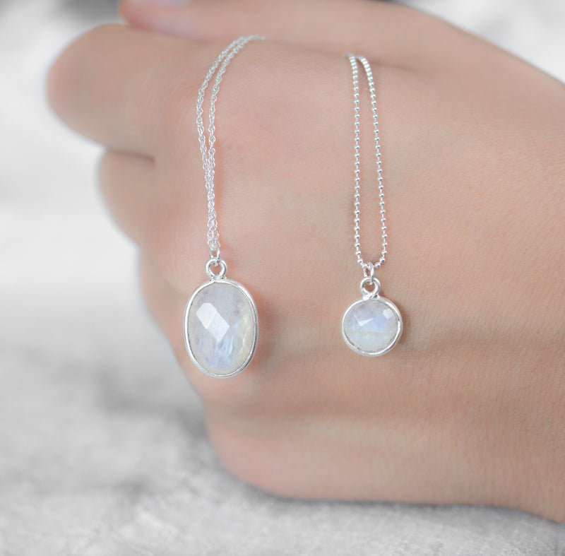 Vita Necklace | Moonstone - Lia Lubiana