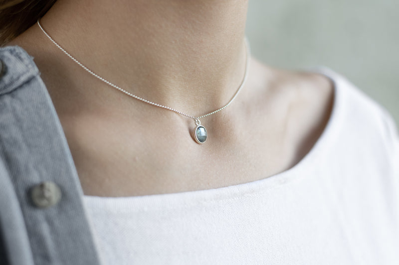 Vita Necklace | Labradorite