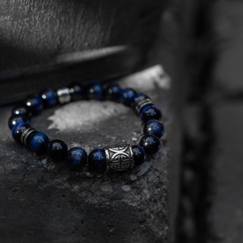 Blue Tigers Eye Bracelet - Summit