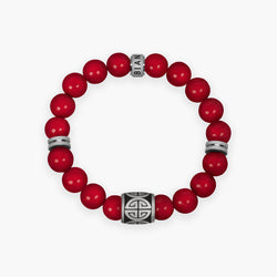 Red Shell Bracelet - Summit