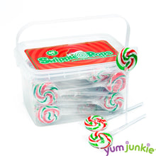 Christmas Swirl Lollipops