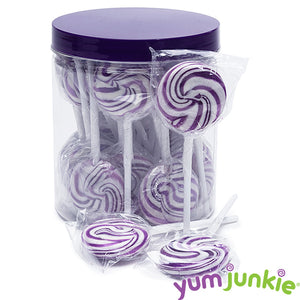 Purple Squiggly Pops