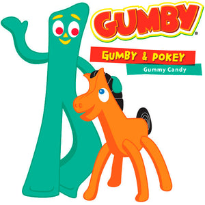 Giant Gumby Candy
