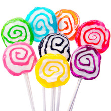 Assorted Spiral Lollipops