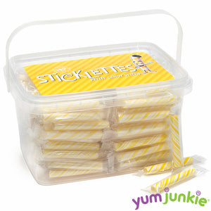 Mini Yellow Candy Sticks