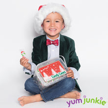 Mini Candy Canes - Red, Green, and White: 100-Piece Tub
