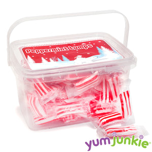 Sassy Peppermint Lumps Hard Candy: 80-Piece Tub