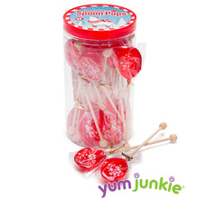 Peppermint Hard Candy Spoons: 20-Piece Jar