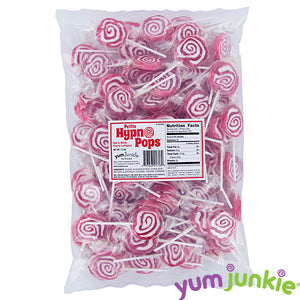 Red Spiral Lollipops