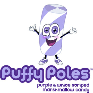 Purple Marshmallow Candy