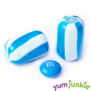 Blue Candy Cylinders