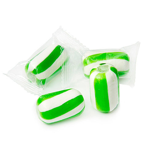 Green Candy Cylinders