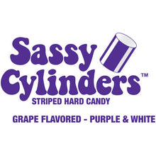 Purple Candy Cylinders