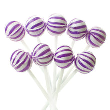 Purple Mini Ball Lollipops