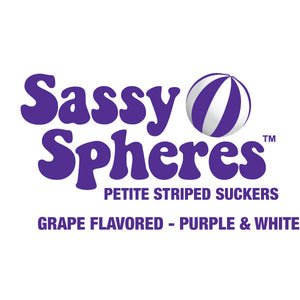 Mini Purple Candy Suckers