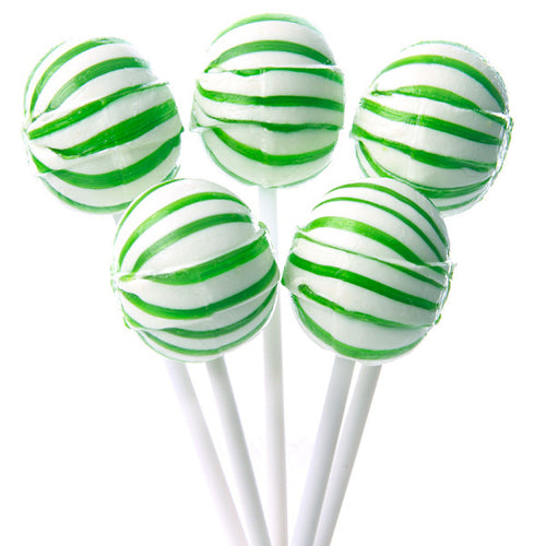 Green Ball Lollipops