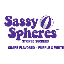 Purple Candy Suckers