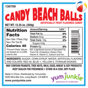 Beach Ball Candy