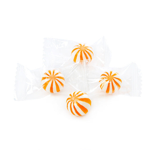 Mini Orange Candy Balls