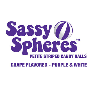Mini Purple Candy Balls