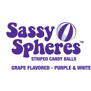 Purple Candy Balls