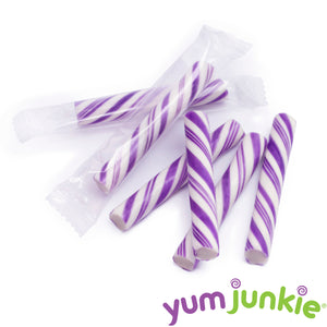 Mini Purple Candy Sticks