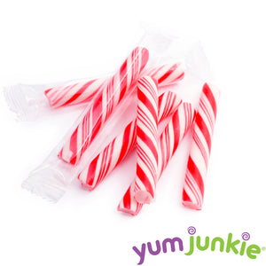 Mini Red Candy Sticks