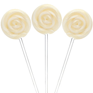White Swirl Lollipops