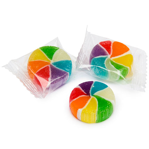 Rainbow Candy Circles