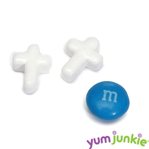 White Candy Crosses