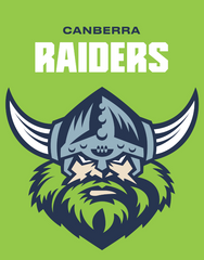 NRL Canberra Raiders Shop Logo