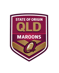 NRL Queensland Maroons shop logo