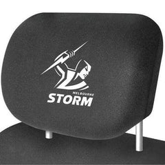 NRL Melbourne Storm car head rest cover