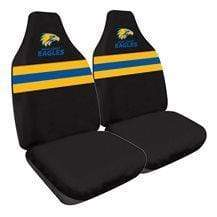 AFL West Coast Eagles car seat covers
