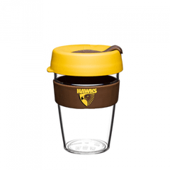 AFL Hawthorn Hawks Keep Cup and travel mug