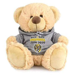 AFL Richmond Tigers 2020 Premiers Cuddly Soft Bear