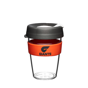 GWS Giants Keep Cup Travel Mug Clear Edition 12oz/340ml