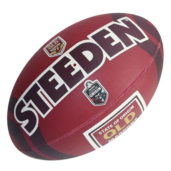 QLD Supporter NRL Steeden Supporter FootBall 11inch