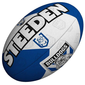 Canterbury Bulldogs Steeden Supporter Football Size 5