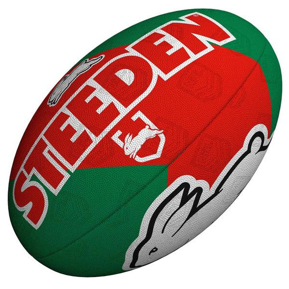 South Sydney Rabbitohs Steeden Supporter FootBall 11inch