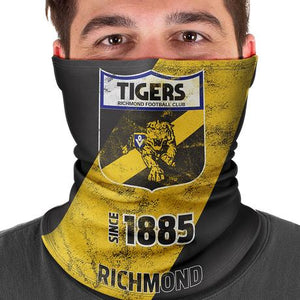 Richmond Tigers Bandana Multi-Scarf Face Cover