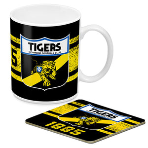 Richmond Tigers Mug and Coaster Gift Pack