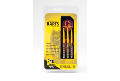 Brisbane Broncos Brass Darts 3PCE