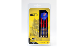 Newcastle Knights Brass Darts 3PCE