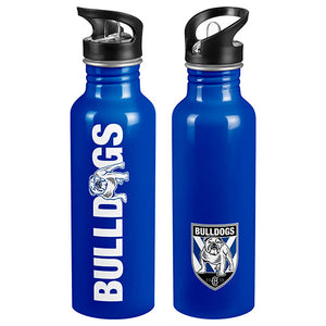 Canterbury Bulldogs Aluminium Drink Bottle
