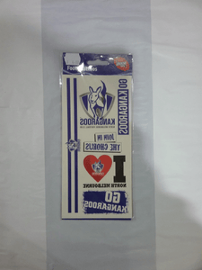 Footy Plus More accessories North Melbourne Kangaroos Footy Tattoos