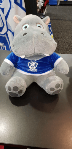 Footy Plus More accessories North Melbourne Kangaroos Hippo Door Stop