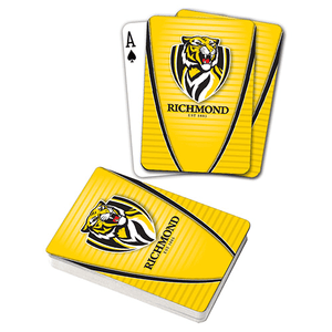 Footy Plus More accessories Richmond Tigers Playing Cards