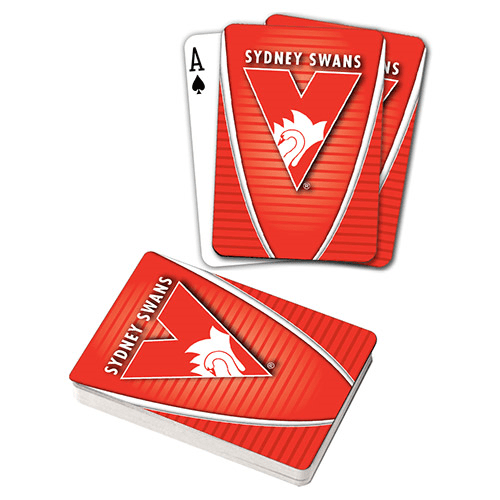 Footy Plus More accessories Sydney Swans Playing Cards