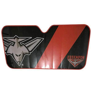 Footy Plus More AUTOMOTIVE Essendon Bombers Sun Shade